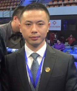 YAN Dinan, B class international WKF referee